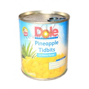Dole , Pineapples  Tidbits  Easy Open Can (836 grams)