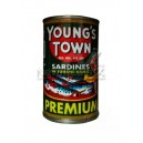 Young's town green sardines