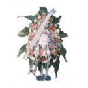 Wreath with stand 9