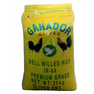 Ganador , Well Milled Rice IR-64  Premium Grade